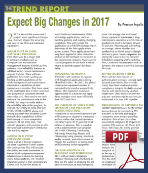 Expect big changes in 2017
