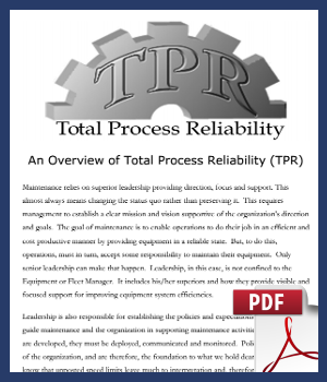 Total Process Reliability