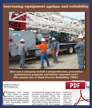 Increasing equipment uptime and reliability