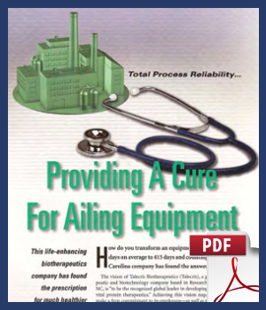 Providing a cure for ailing equipment