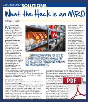 What the heck is an MRO