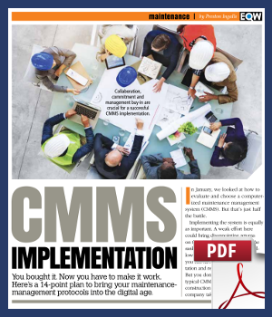 CMMS Implementation